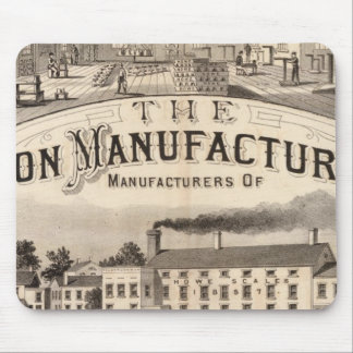 The Brandon Manufacturing Company Mouse Mat