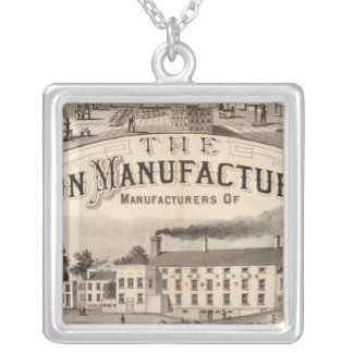 The Brandon Manufacturing Company Silver Plated Necklace