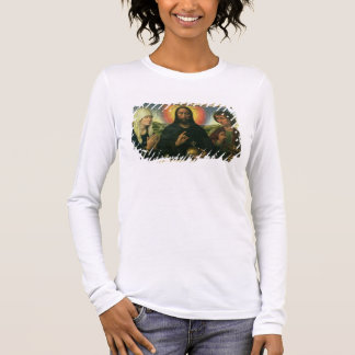 The Braque Family Triptych: (LtoR) St. John the Ba Long Sleeve T-Shirt