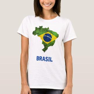 The Brasil Flag T-Shirt (ladies)
