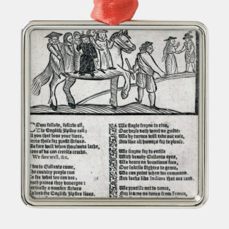 The Brave English Gypsy' Christmas Ornament