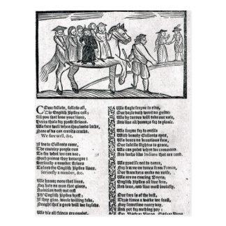 The Brave English Gypsy' Postcard