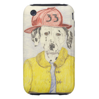 The Brave Fire Fighter Tough iPhone 3 Cover