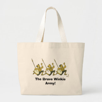 The Brave Winkie Army Tote Bag