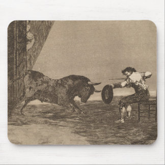 The Bravery of Martincho in the Ring of Saragassa Mouse Pad