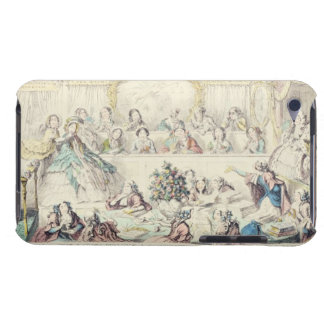 The Breach of Promise - cartoon hand coloured etch Case-Mate iPod Touch Case