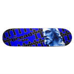 The Bread of Life Blue with Jesus Skate Boards