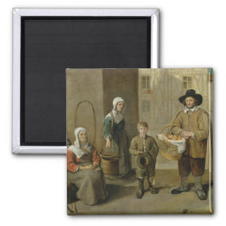 The Bread Seller and Water Carriers Magnet