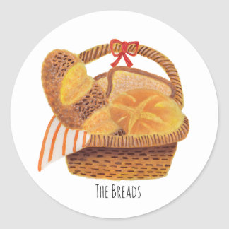 The Breads Classic Round Sticker
