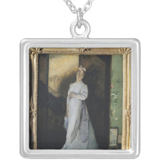 The Break-Up Letter, c.1867 Silver Plated Necklace