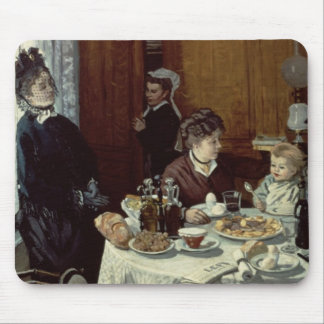 The Breakfast 1868 oil on canvas Mouse Pad