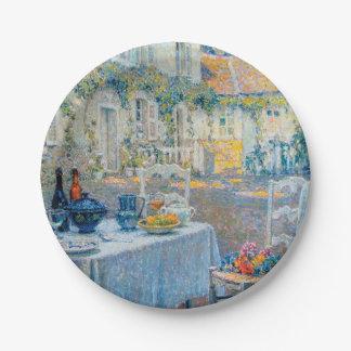 The Breakfast Table (Le Dejeuner) Paper Plate
