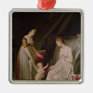The Breastfeeding Mother Christmas Ornament