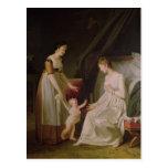 The Breastfeeding Mother Postcard