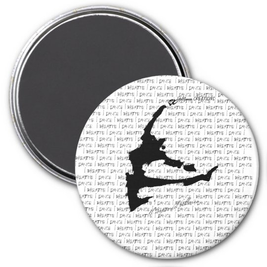 The Breath of a dancer 7.5 Cm Round Magnet