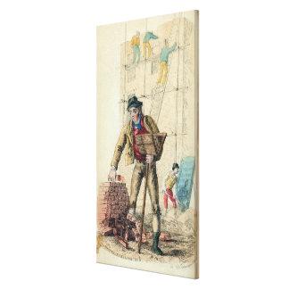 The Bricklayer's Labourer Canvas Print