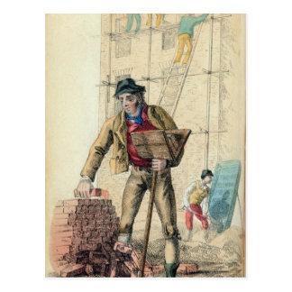 The Bricklayer's Labourer Postcard