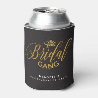 """The Bridal Gang"" Gold & Black Bachelorette Party"