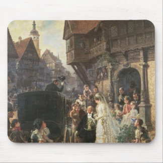 The Bride, 19th century Mouse Pad