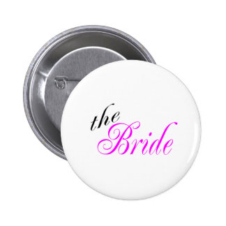 The Bride 6 Cm Round Badge