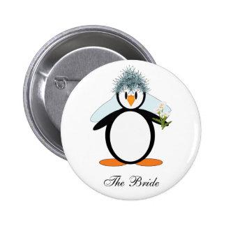 The Bride 6 Cm Round Badge