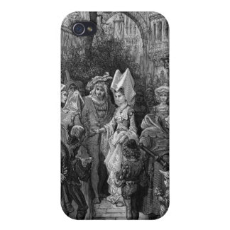 The Bride and Groom entering the hall iPhone 4 Cases