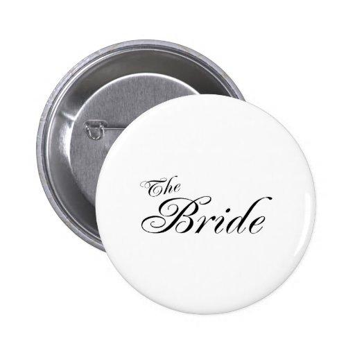 The Bride (Blk) Pin