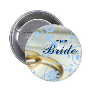 The Bride (Colour Customisable) 6 Cm Round Badge