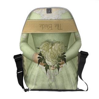 The Bride (green) Custom Courier Bag