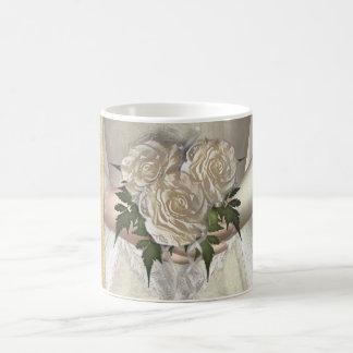 "The Bride ""Hers"" (white) Wedding Coffee Mug"