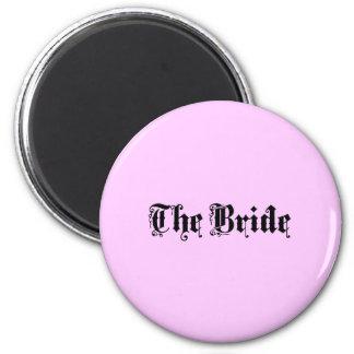 The Bride Refrigerator Magnets