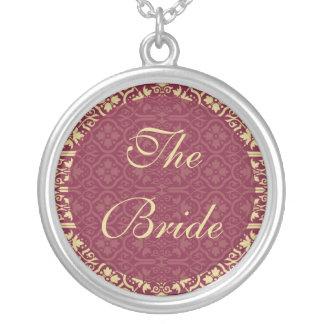 The Bride Necklace - Damask Wedding