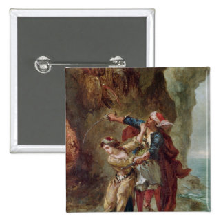 The Bride of Abydos, 1843 15 Cm Square Badge