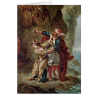 The Bride of Abydos, 1843 Card