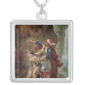 The Bride of Abydos, 1843 Silver Plated Necklace