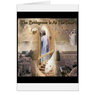 The Bridegroom is at the Door Cards