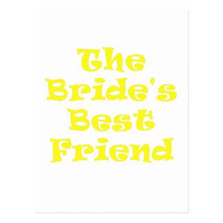 The Brides Best Friend Postcard