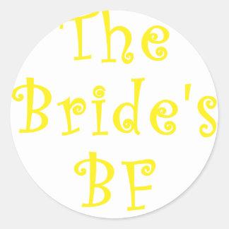 The Brides BF Sticker