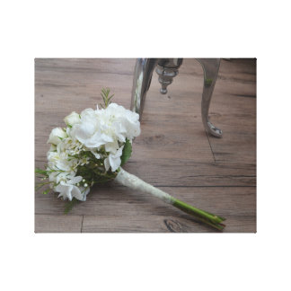 The Bride's Bouquet Canvas Print
