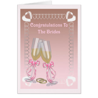 The Brides Card
