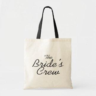 The Brides Crew Budget Tote Bag