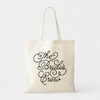 The Bride's Crew Budget Tote Bag