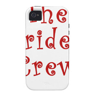 The Brides Crew Vibe iPhone 4 Covers