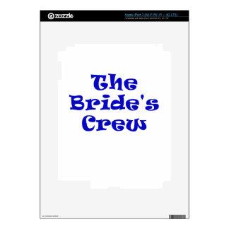 The Brides Crew Decals For iPad 3
