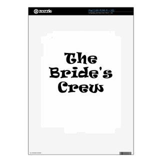 The Brides Crew iPad 2 Decal