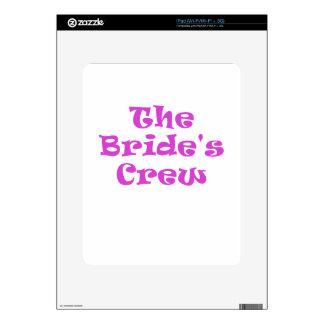 The Brides Crew iPad Decal