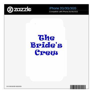 The Brides Crew iPhone 3GS Skins