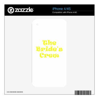 The Brides Crew iPhone 4 Skin