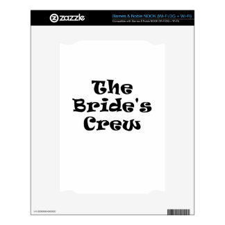 The Brides Crew Skin For NOOK