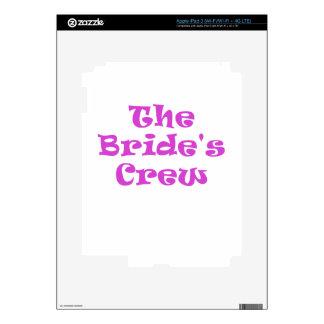 The Brides Crew Skins For iPad 3